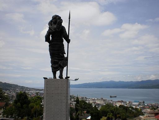 Monumen Martha Christina Tiahahu Karang Panjang Ambon